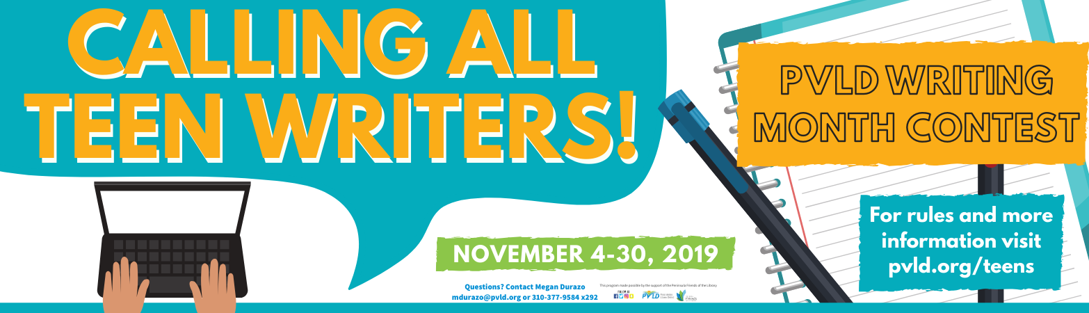 Teen Writing Month Essay Contest